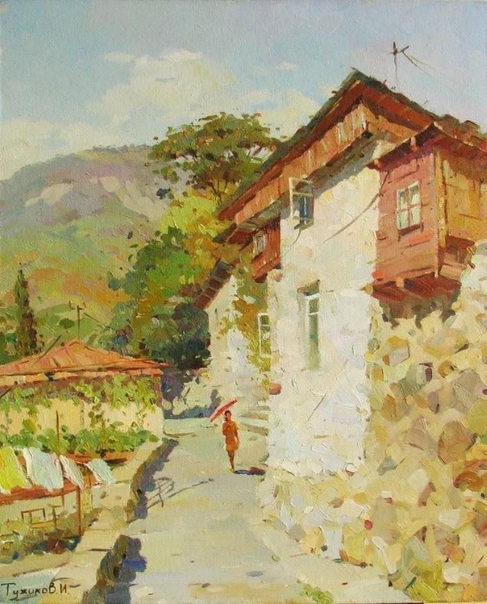 Талантливый украинский художник. Игорь Тужиков