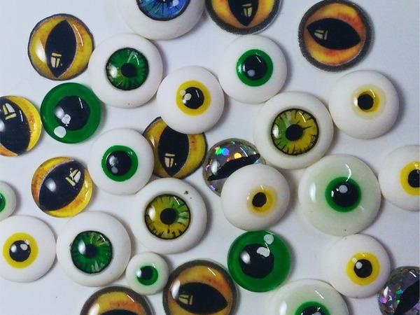 Как сделать глаза для игрушек своим руками фото 372