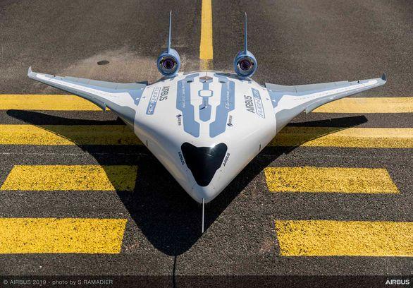 Airbus представил модель самолета интегральной аэродинамической компоновки