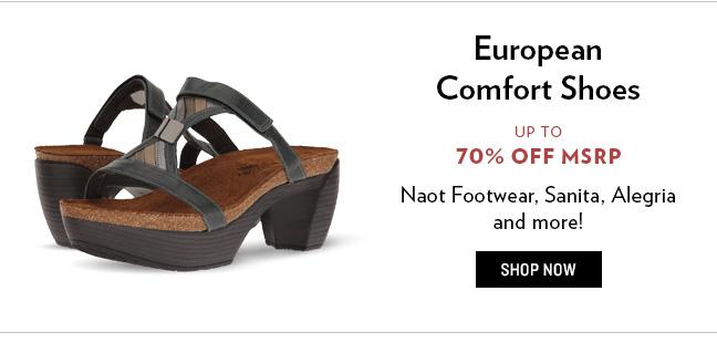 European Comfort Footwear