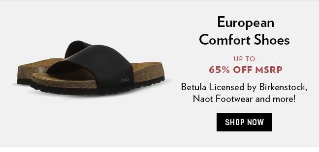 European Comfort Shoes