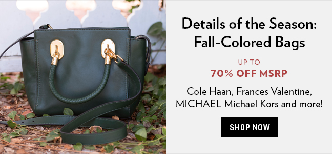 Shop Fall Colored Bags