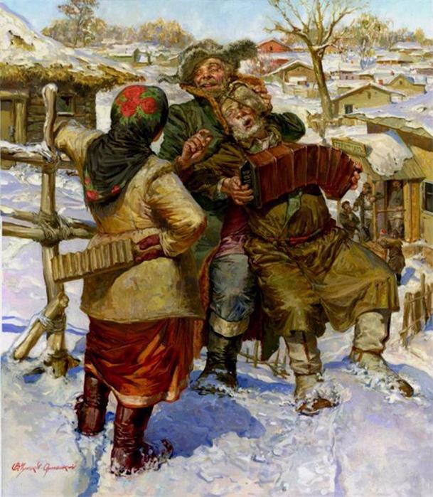 Nemnogo-zhivopisi-s-yumorom-Kartiny-Vladimira-ChumakovaOrleanskogo (609x700, 523Kb)