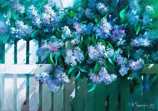 Сирень цветет (653x458, 471Kb)