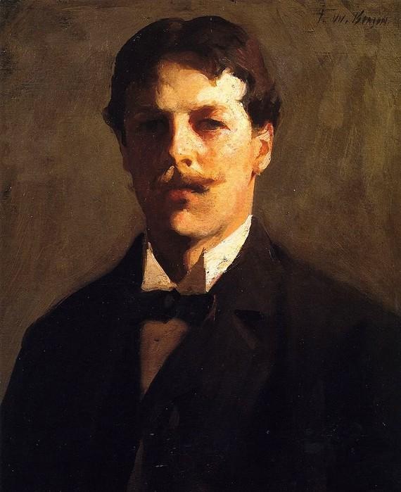 Фрэнк Бенсон Frank Weston Benson Автопортрет 1898 (570x700, 98Kb)