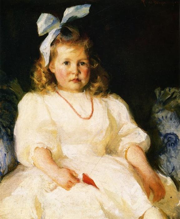 Frank Weston Benson - Portrait of Elizabeth Tyson Russell (577x700, 122Kb)