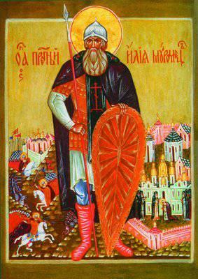 Преподобный Илия Муромец, Печерский1 (283x400, 31Kb)