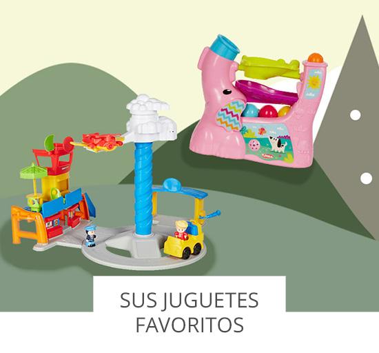Sus juguetes favoritos