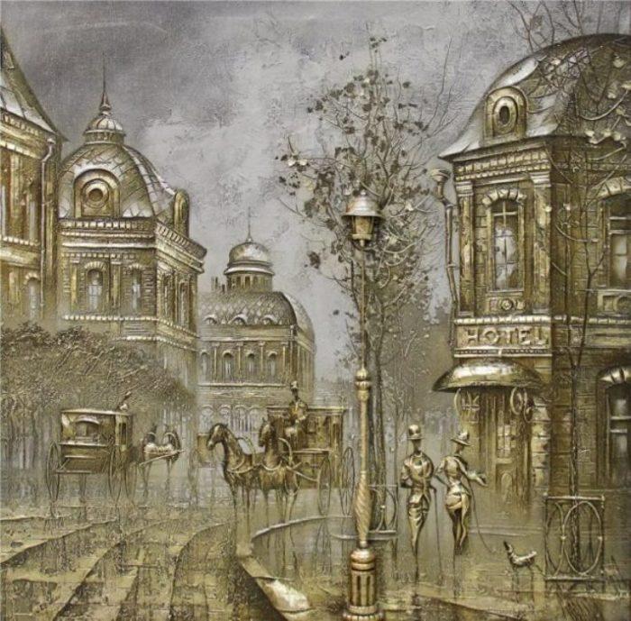 Отель. Автор: Сергей Ковалёв.