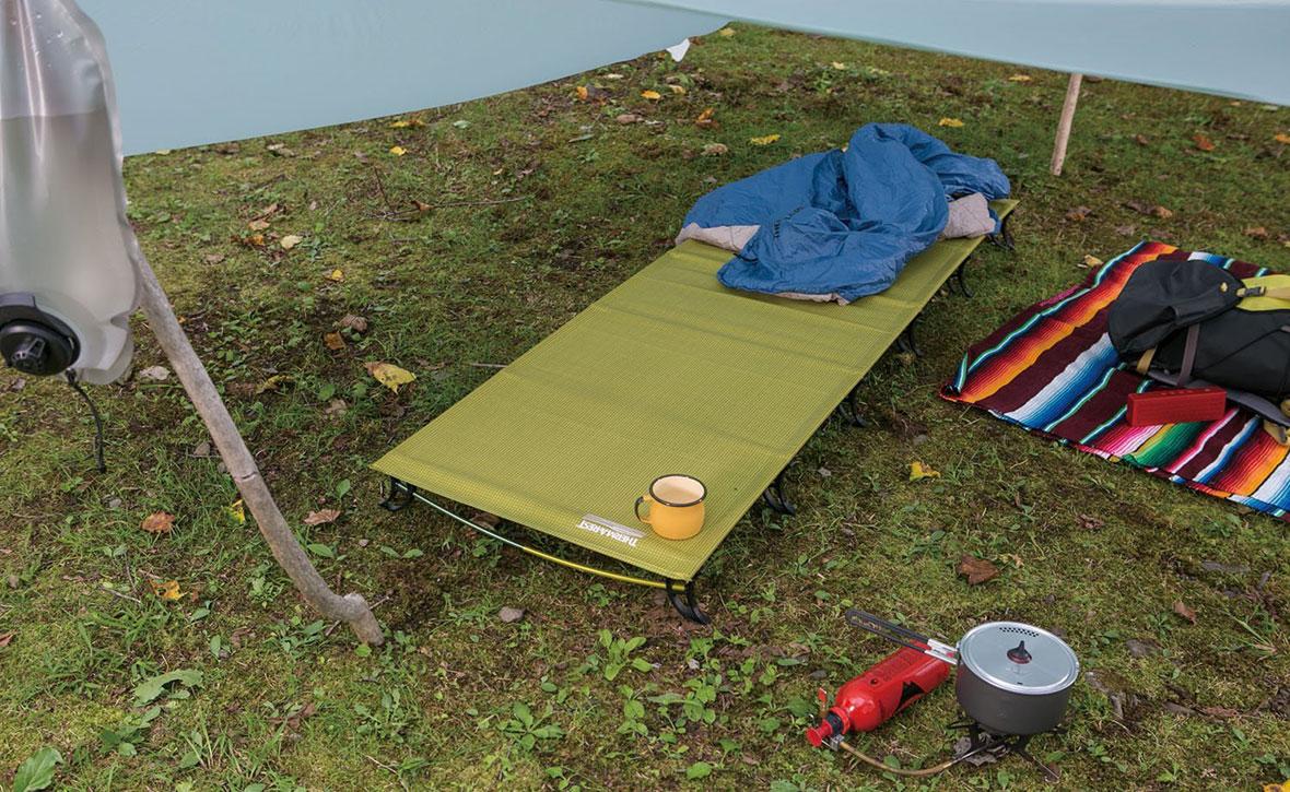 Про туристические раскладушки и кровати для кемпинга