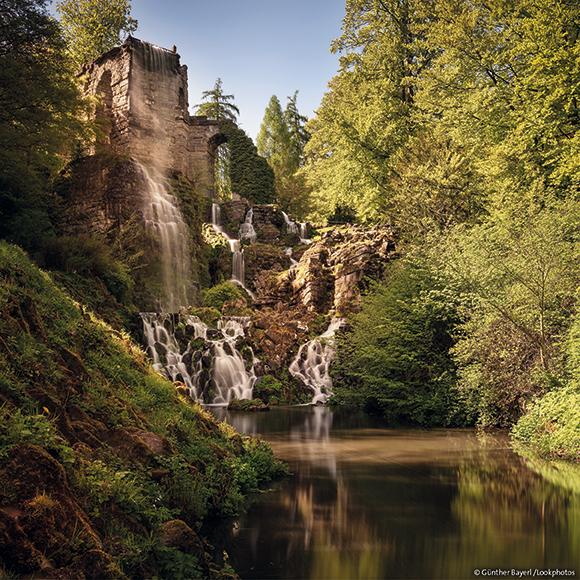 Кассель: Всемирное наследие ЮНЕСКО Горный парк Вильгельмсхёэ, акведук