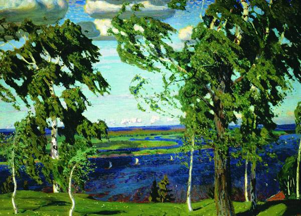 Зеленый шум. 1904. Аркадий Рылов