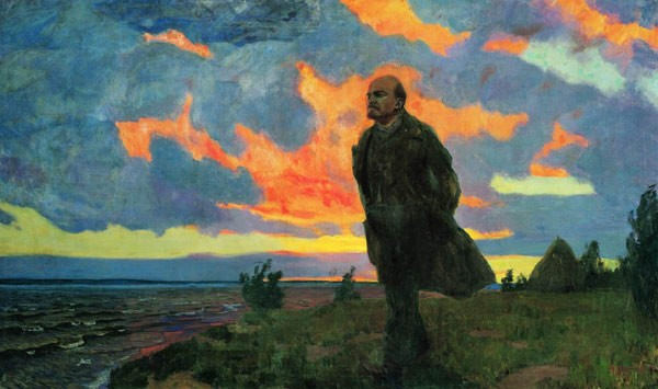Ленин в Разливе