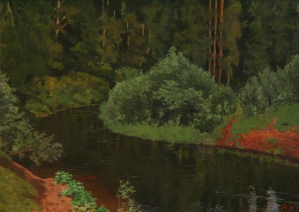 Лесная речка. 1920-1930-е