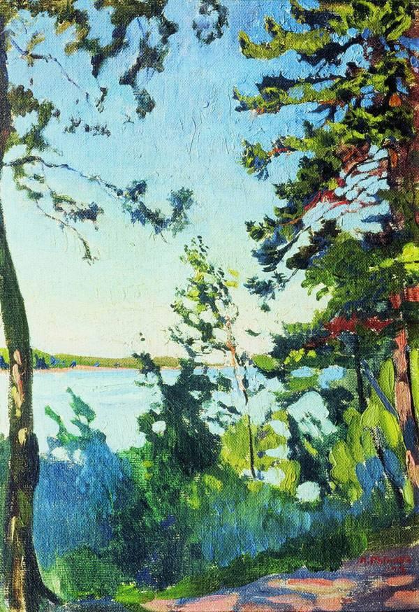 Парк на берегу Невы