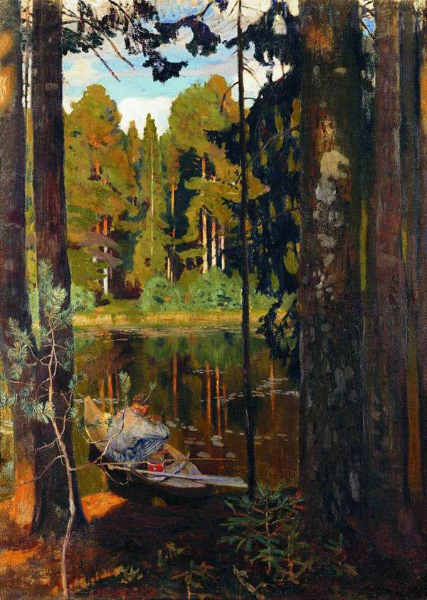 Тихое озеро. 1908