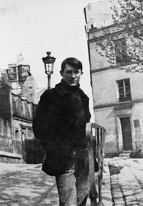 Пабло Пикассо в юности. | Фото: picasso-pablo.ru.