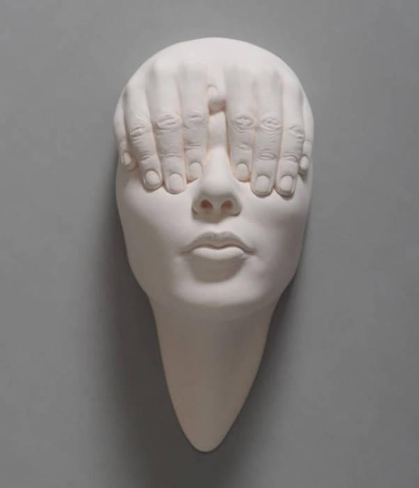 Представление скульптором всемирной паутины.