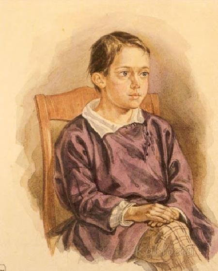 Николай Маковский, сын. Автор: Е.И. Маковский