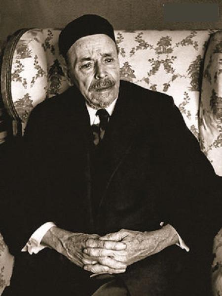 Михаил Васильевич Нестеров в 80-летнем возрасте.