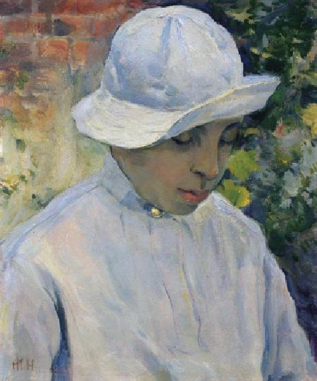 Портрет сына  Алексея. (1942). Автор: Михаил Нестеров.