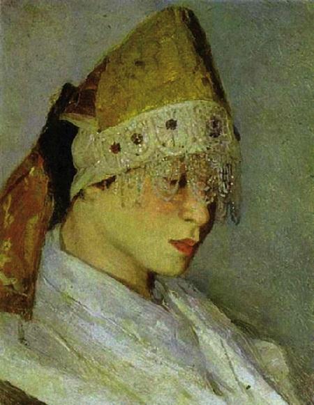Мария Нестерова. Автор: Михаил Нестеров.