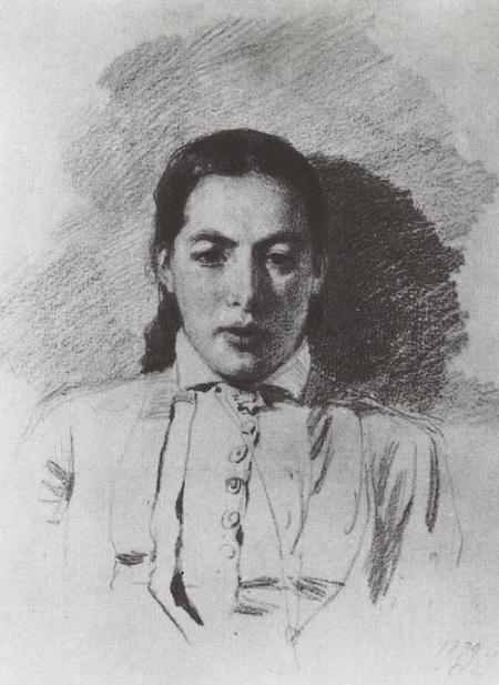 Портрет Натальи Васильевны Якунчиковой, жены Поленова. (1879). Автор: Василий Поленов.