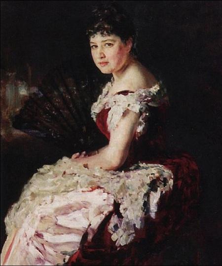 Портрет М.Н. Климентова. Автор: И.Е. Репин.