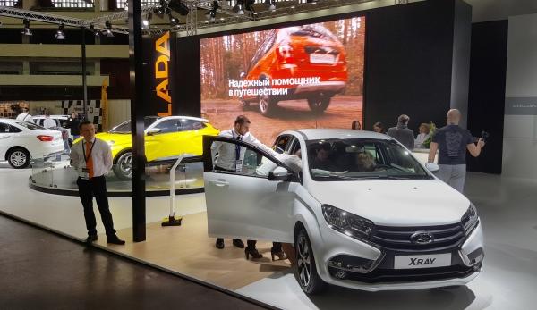 LADA принимает участие в Международной выставке ''Мир автомобиля''