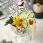 "Салат-коктейль ""Новогодний"""