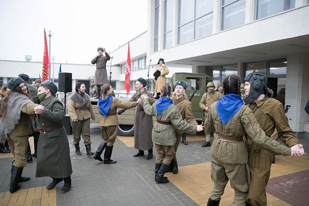 День защитника Отечества: учреждения волгоградского региона подготовили праздничные мероприятия