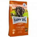 Happy Dog Supreme Sensible Toscana сухой корм Хэппи Дог Тоскана для взрослых собак, Утка и Лосось [12,5кг]