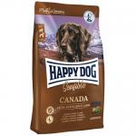 Happy Dog (Хэппи Дог) Supreme Sensible Canada сухой корм Хэппи Дог Канада для взрослых собак, Лосось, Кролик и Ягненок [4кг]