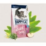 Happy Cat (Хэппи Кэт) юниор для стерилизованных кошек Атлантический лосось [4 кг]