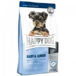 Happy Dog Supreme Mini Baby & Junior сухой корм Хэппи Дог для щенков и юниоров мелких пород [4кг]