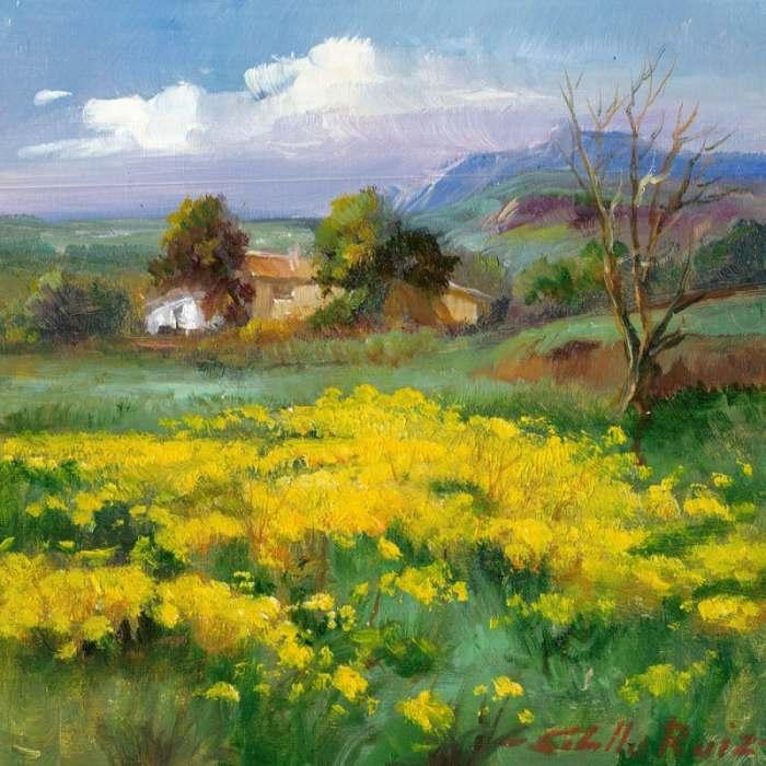 Выдающийся художник-пейзажист. Jose Cabello Ruiz