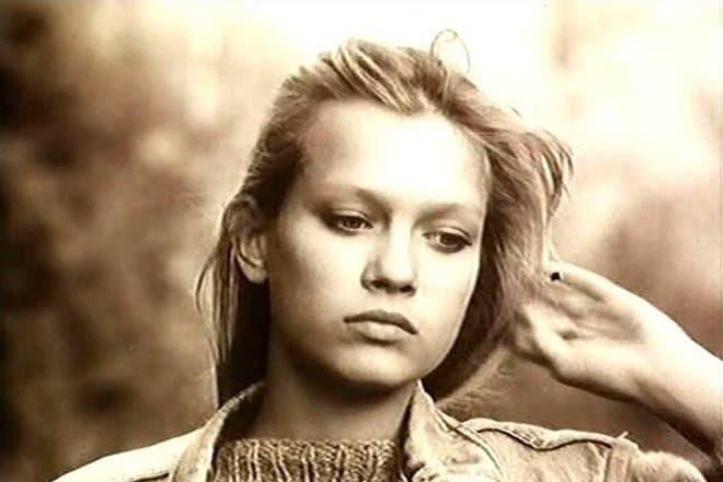 Олеся Судзиловская в юности