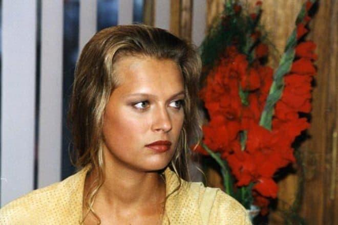 Олеся Судзиловская в молодости