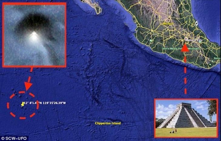 7. База инопланетян загадка, интересное, мир, океан, секрет, тайна, тихий