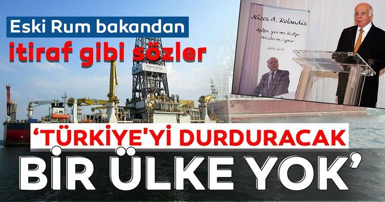 Eski Rum Bakan'dan itiraf gibi sözler! 'Türkiye'yi durduracak bir ülke yok'