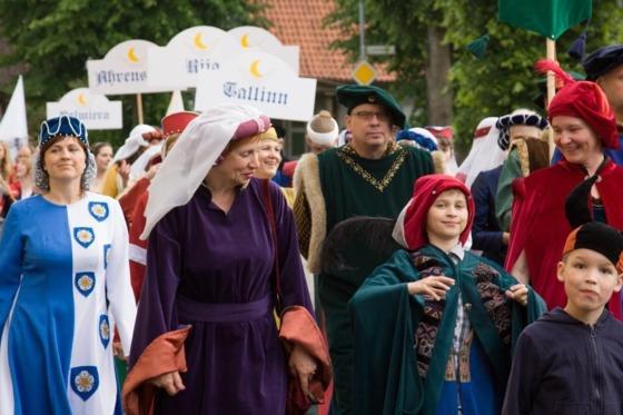 Назад в Средневековье: Ганзейские дни в Вильянди