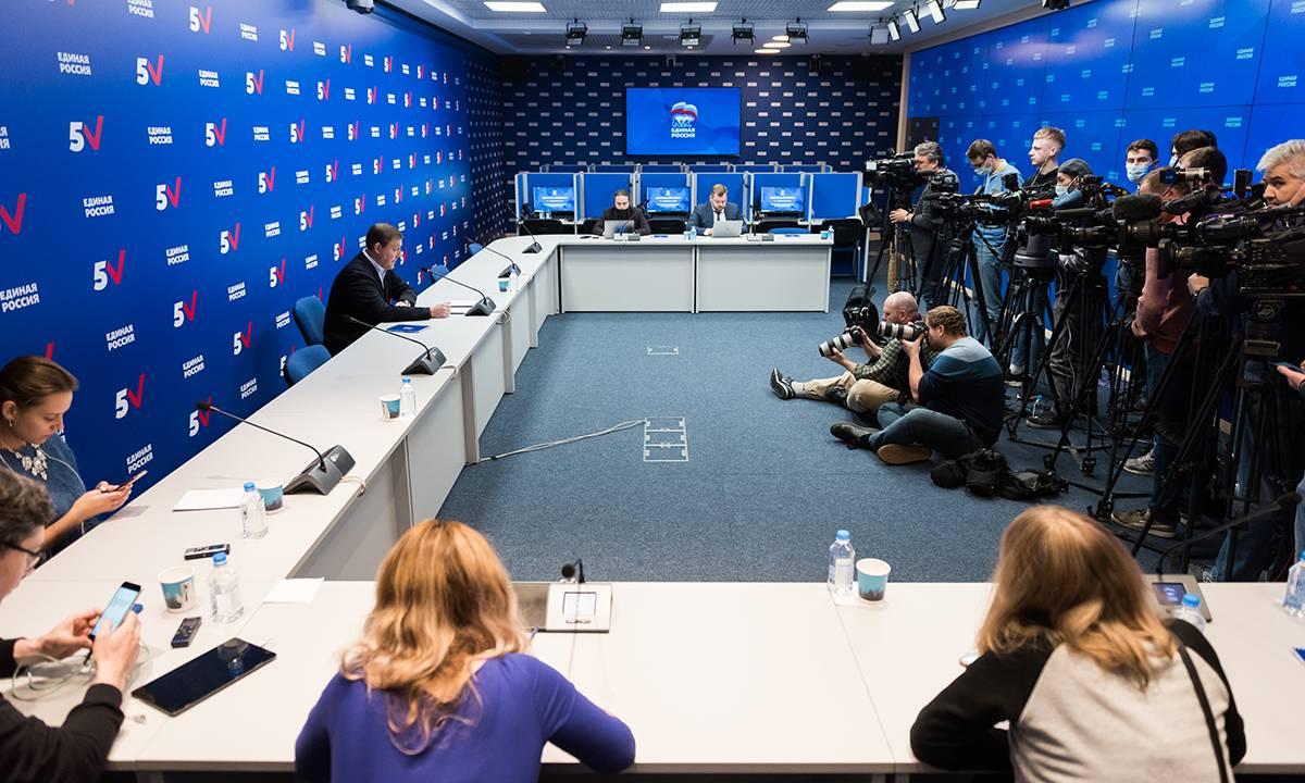 Андрей Турчак озвучил предварительные итоги выборов