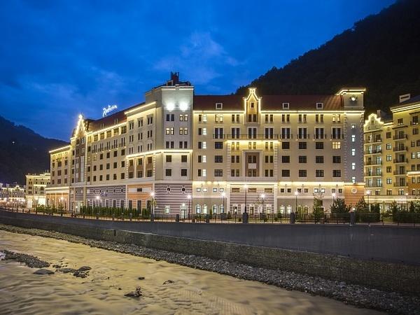 """Отель """"Radisson Rosa Khutor"""""""