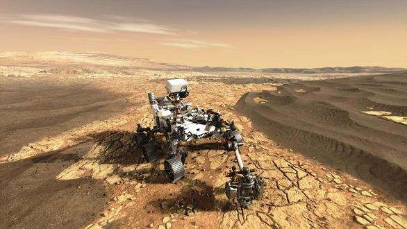 Технологии Airbus помогут NASA Perseverance в изучении Марса