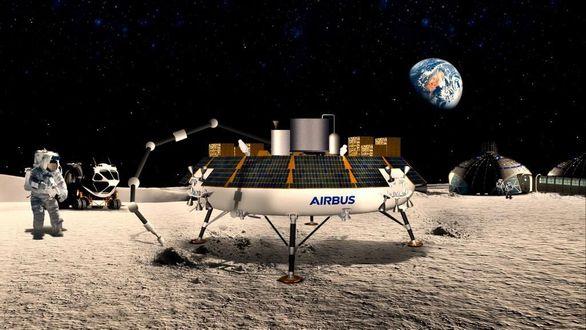 Airbus превратил лунную пыль в кислород с помощью революционной технологии ROXY