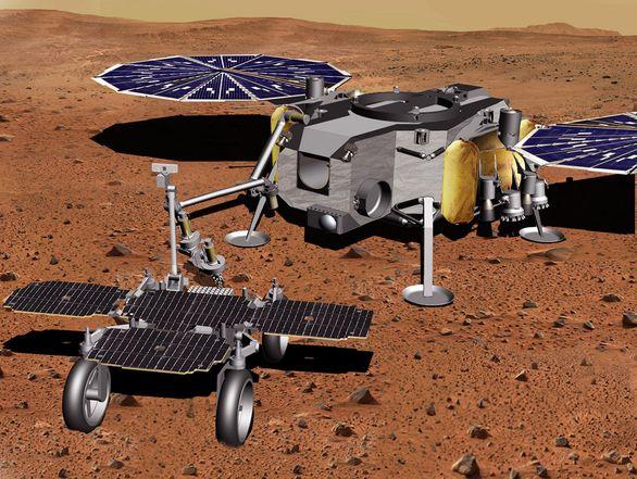 Airbus получил новый контракт на разработку марсохода Sample Fetch Rover