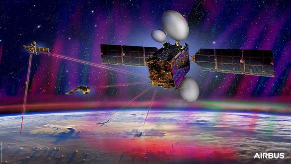 Airbus дополнит систему связи SpaceDataHighway вторым спутником