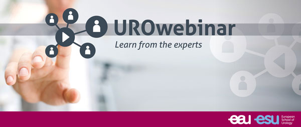 NEW – UROwebinar by the European School of Urology