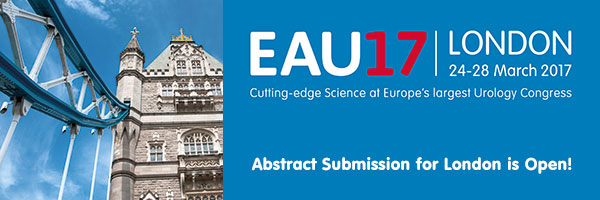 Promote your research and submit your abstracts for the 32nd Annual EAU Congress in London