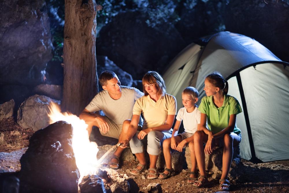 Aile boyu kamp – Bungalov keyfi